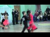 Спортивные бальные танцы г.Мурманск 08.04.2012.Юниоры -1